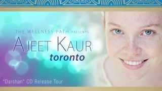 Ajeet Kaur: Sacred Chant Concert in Toronto, October 2, 2015