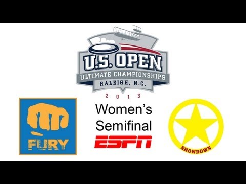 Video Thumbnail: 2013 U.S. Open Club Championships, Women's Semifinal: San Francisco Fury vs. Austin Showdown