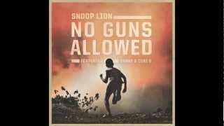 "No Guns Allowed- Snoop ""Lion"" Dogg ft. Drake & Cori B (Lyrics) (HD)"