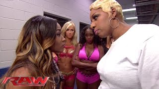 Raw guest star NeNe Leakes tries to put Cameron in her place: Raw, Oct. 13, 2014