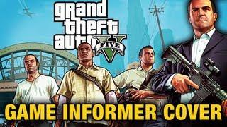 GTA 5 - Game Informer Cover + New Artworks!