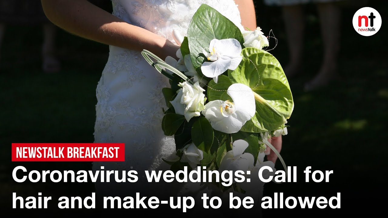 Coronavirus weddings: Call for hair and make-up to be allowed
