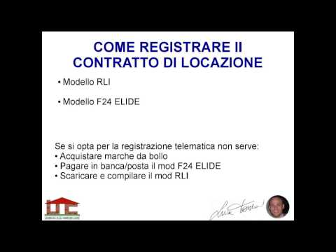 Consigli. Alcuni Link Che Potrebbero Esserti Utili: Locazioni. Registrazione  Del Contratto Di ...