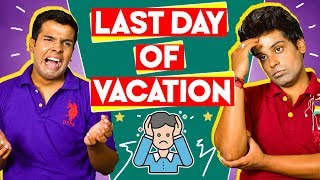 LAST DAY of VACATION | The Half-Ticket Shows