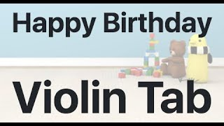 Learn Happy Birthday on Violin - How to Play Tutorial
