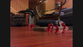 Stop Motion War Video for Dirty Power by Sound Through Time