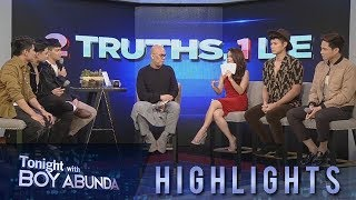 TWBA: BoybandPH and Elisse Joson take on TWBA's 2 Truths, 1 Lie