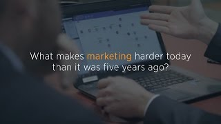 Marketing Gets Harder