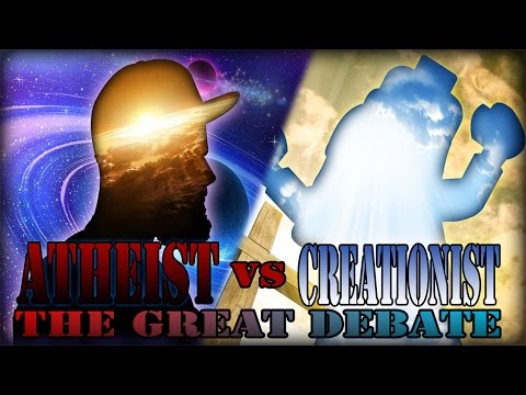 The Great Debate ft. Skeptical Unchild (Epic Rap Battles of Atheism)