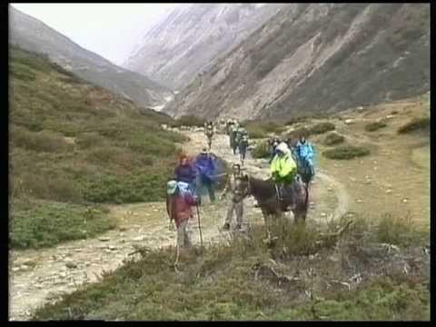 Nepal Annapurna Circuit Manang to Thorong Phedi 1997