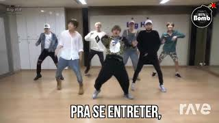 Naja {Paródia Dope} Batuque Do Meu Samba - Bts & Wtf Bangtan | RaveDJ