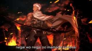 Fate/Stay Night: Unlimited Blade Works Season 2 OP FULL [Brave Shine] with Romaji lyrics