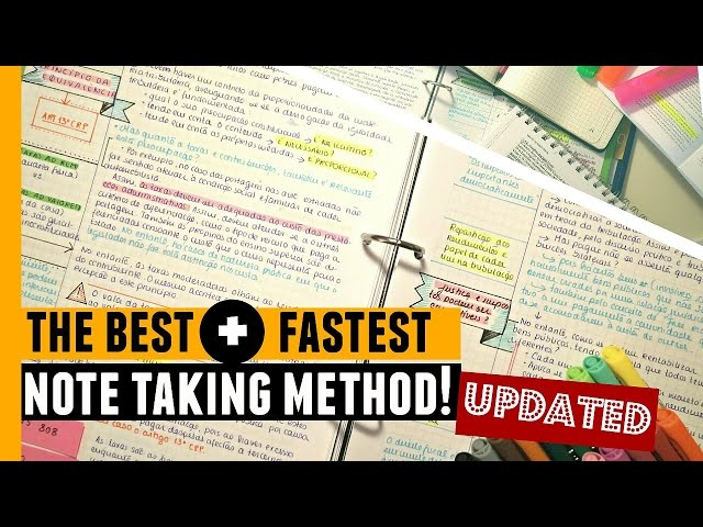 Note-taking 3: taking detailed notes using an adaption of the Cornell style - video