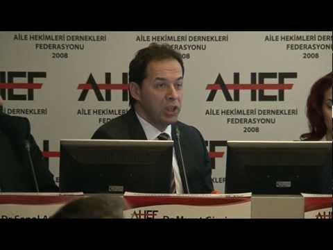 Aile Hekimliği ve Aile Hekimliğinin Toplum Sağlığına Katkıları / AHEF Basın Toplantısı