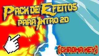 Pack de Efeitos para Intro 2D em Chroma Key para Android!