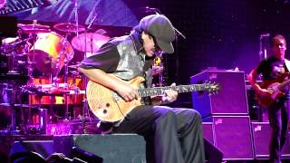 Carlos Santana Guitar Solo Live Noblesville IN up close in HD