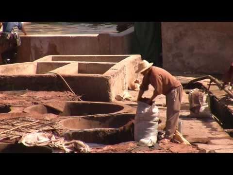 Gerbereien und Garküchen von Marrakesch
