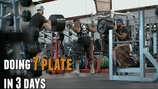 Doing 7 Plate Lifts In 3 Days!