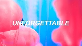 unforgettable from finding dory (lyric video)