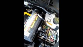 Falta de corrente elétrica bomba.fiesta 2013