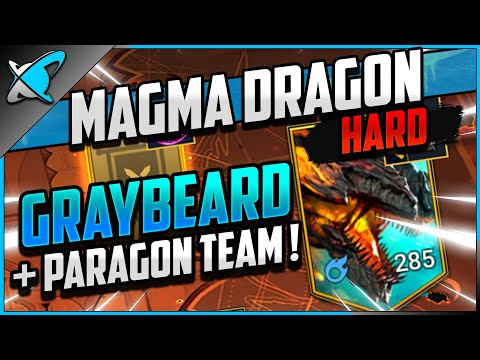 """GRAYBEARD TEAM"" Kuldath The Magma Dragon on HARD (80)!! | Doom Tower Series | RAID: Shadow Legends"