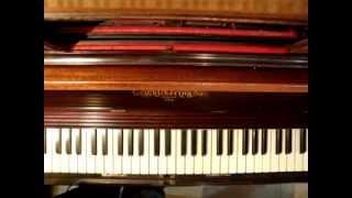 La Reina de Saba, Fox de J. Padilla en Pianola por Horacio Asborno desde Viedma, Patagonia Argentina