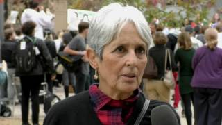 Joan Baez Comments on President-Elect Donald Trump