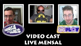 Videocast do Coringa e Live mensal do canal Digplay!