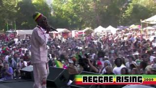 """Messenjah Selah """"Jah Love"""" at Reggae Rising 2009"""