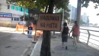 Praia João Caetano - Ingá - Niterói - Registro de agressão ao meio ambiente, em 27.05.12.mp4