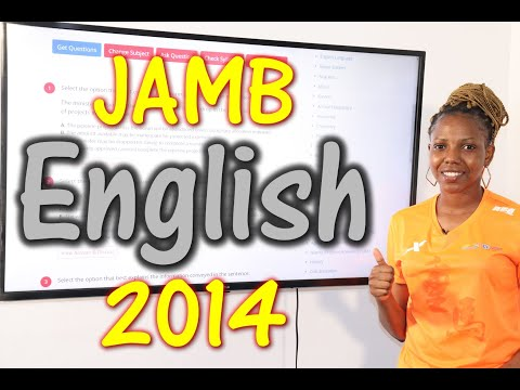 JAMB CBT English 2014 Past Questions 1 - 20