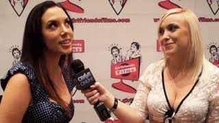 Girlfriends Films Pt. 1 - Adult Entertainment Expo 2013 (NSFW)
