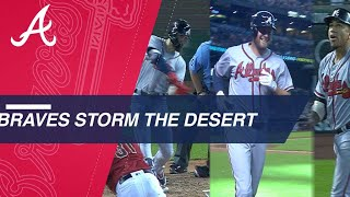Braves hit three clutch homers in the 9th to win it