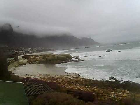 Timelapse Video – Glen Beach & Camps Bay – 16/07/2010