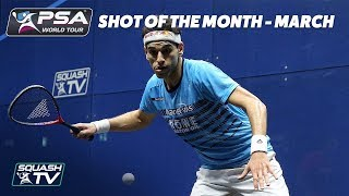 Squash: Shot of the Month The Contenders - March 2018