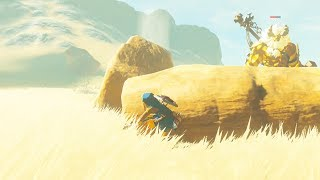 How to Kill a Gold Lynel Without it Seeing you! - Zelda Breath of the Wild