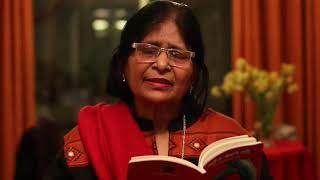 Dr, Shefalika  Verma reciting her Maithili  Poem