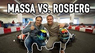 MASSA VS ME: BROKEN RIBS & GO KARTS | NICO ROSBERG | eVLOG