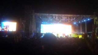Metallica live@bangalore,India 2011 -- cyanide