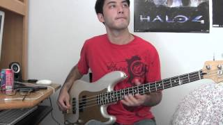 Queens of the Stone Age - My God Is The Sun Bass Cover (With Tab)