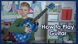 How to Play Twinkle Twinkle Little Star on a Guitar
