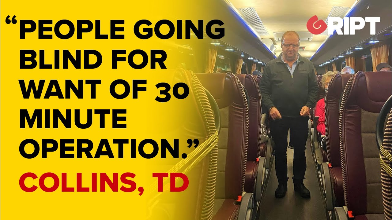 """Micheal Collins, TD : """"Medical Discrimination"""" """"people going Blind for want of 30 minute Operation"""""""