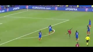 EURO 2016 Portugal 1 - 0 France Golo de Eder 109' Radio Antena 1