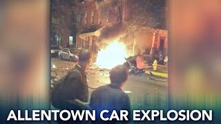 Autopsies planned for 3 found dead in Allentown car explosion