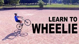 Learn to Wheelie    Learn Quick
