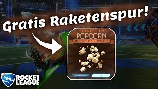 GRATIS Item: Popcorn-Raketenspur! - Rocket League [deutsch][HD]