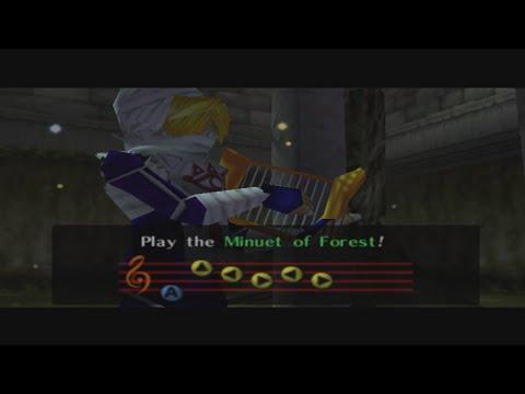 Legend of Zelda Ocarina of Time: Minuet of Forest Chords