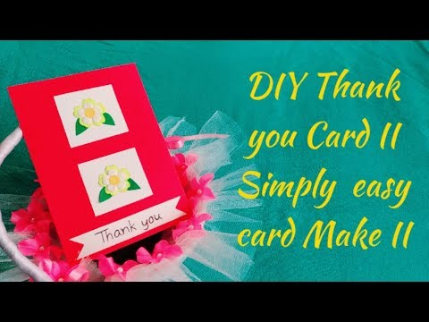 Download Thumbnail For Diy Thank You Card Ll Simply Easy Card Making