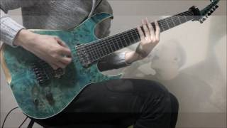 """Architects """"Gone with the wind"""" Guitar Cover ///Skervesen Raptor7 test///"""
