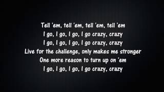 Kehlani - CRZY | Lyrics [KARAOKE]